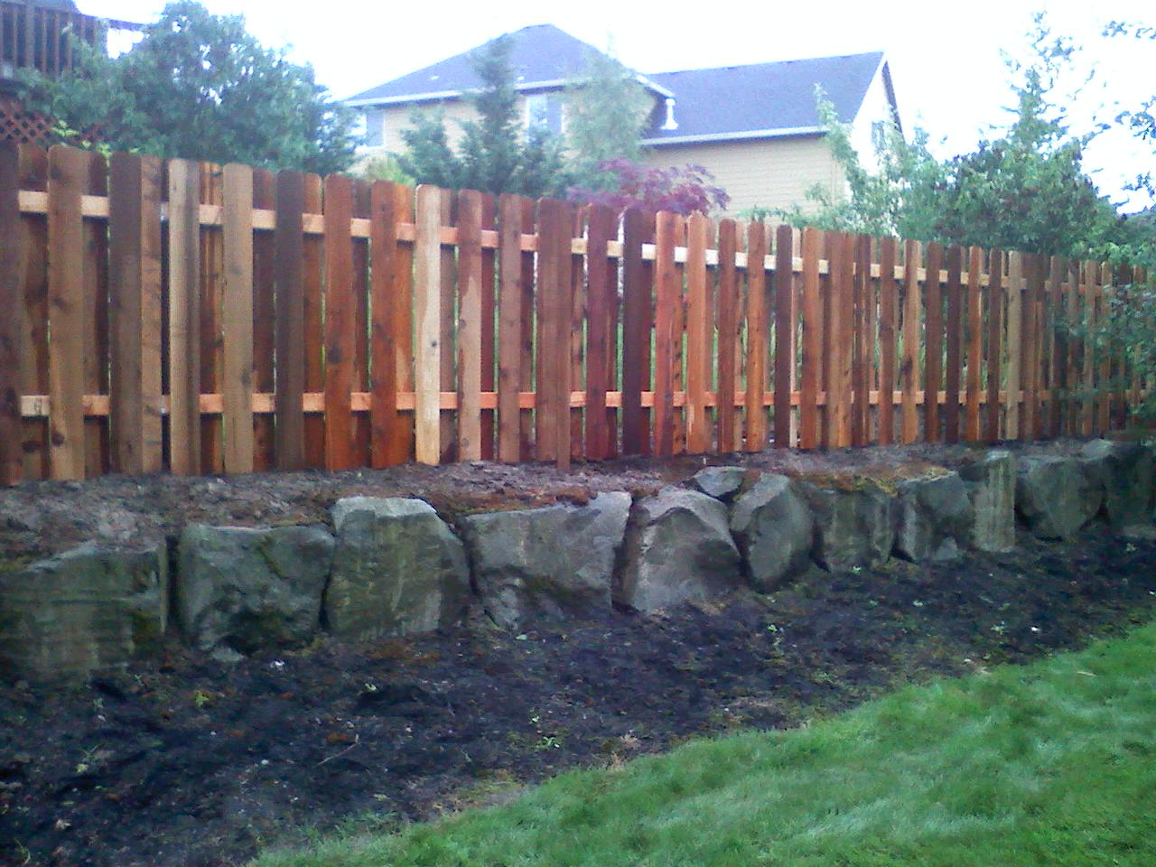 Cedar Fences any Style or Design 4