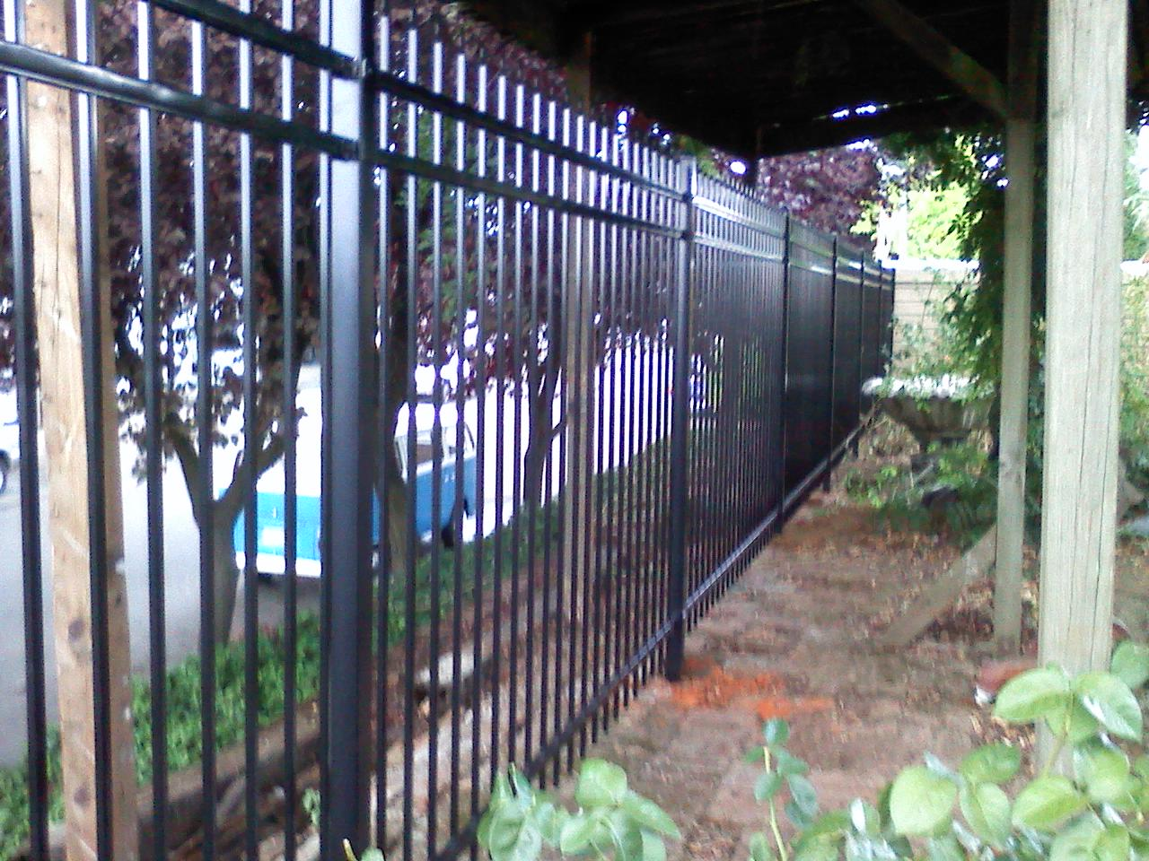 Ornamental Iron Fences 3