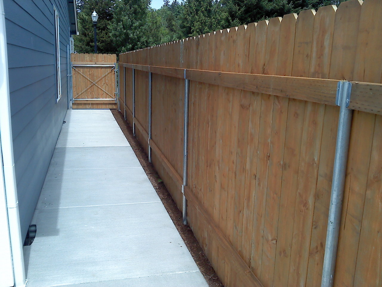Pressure Treated Wood Fences 1