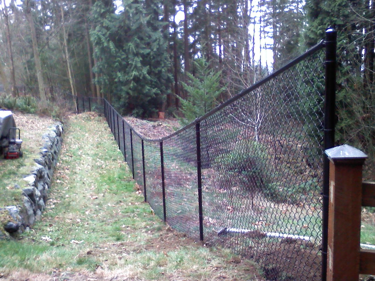 Vinyl Coated Chainlink Fences 2